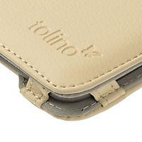 tolino vision, Schutztasche in Lederoptik (Farbe: creme) - Produktdetailbild 10