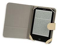 tolino vision, Schutztasche in Lederoptik (Farbe: creme) - Produktdetailbild 4