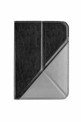 tolino vision, Schutztasche mit Origami Standfunktion (Farbe: schwarz/grau)