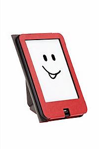 tolino vision, Schutztasche mit Origami Standfunktion (Farbe: rot/weiss) - Produktdetailbild 3