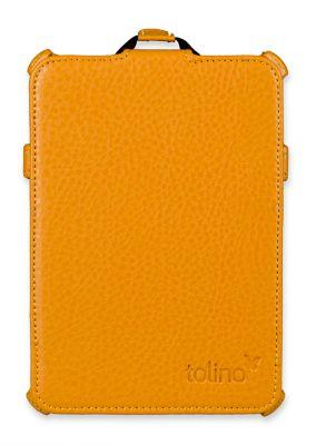 tolino vision, Schutztasche mit Standfunktion (Farbe: gelb)