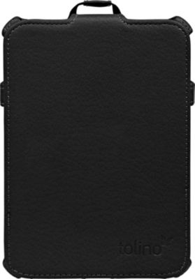 tolino vision, Schutztasche mit Standfunktion (Farbe: schwarz)
