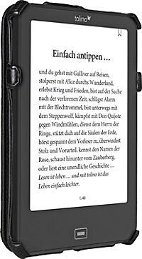 tolino vision, Schutztasche mit Standfunktion (Farbe: schwarz) - Produktdetailbild 1