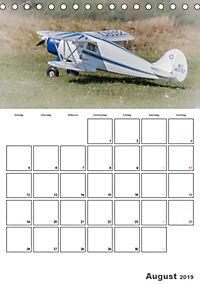 Tollkühne Helden der Lüfte - Modellflugzeuge in Aktion (Tischkalender 2019 DIN A5 hoch) - Produktdetailbild 8