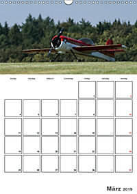 Tollkühne Helden der Lüfte - Modellflugzeuge in Aktion (Wandkalender 2019 DIN A3 hoch) - Produktdetailbild 3