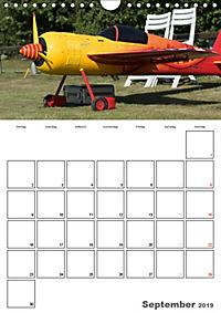 Tollkühne Helden der Lüfte - Modellflugzeuge in Aktion (Wandkalender 2019 DIN A4 hoch) - Produktdetailbild 9