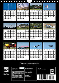 Tollkühne Helden der Lüfte - Modellflugzeuge in Aktion (Wandkalender 2019 DIN A4 hoch) - Produktdetailbild 13