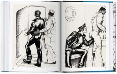 Schwule Sex-Cartoon-Bild