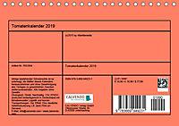 Tomatenkalender 2019 (Tischkalender 2019 DIN A5 quer) - Produktdetailbild 13