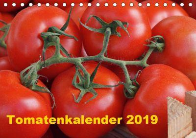 Tomatenkalender 2019 (Tischkalender 2019 DIN A5 quer), Atlantismedia