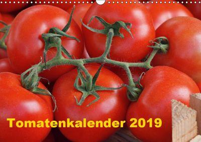 Tomatenkalender 2019 (Wandkalender 2019 DIN A3 quer), Atlantismedia