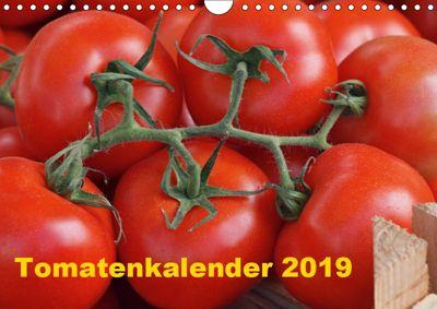 Tomatenkalender 2019 (Wandkalender 2019 DIN A4 quer), Atlantismedia