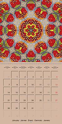 Tomato Kaleidoscope (Wall Calendar 2019 300 × 300 mm Square) - Produktdetailbild 1