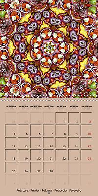Tomato Kaleidoscope (Wall Calendar 2019 300 × 300 mm Square) - Produktdetailbild 2