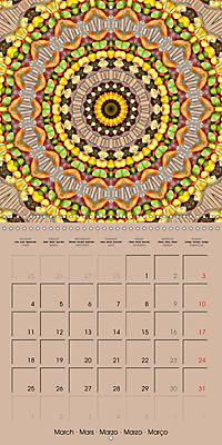 Tomato Kaleidoscope (Wall Calendar 2019 300 × 300 mm Square) - Produktdetailbild 3
