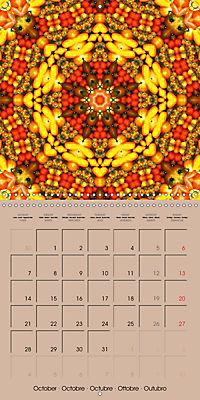 Tomato Kaleidoscope (Wall Calendar 2019 300 × 300 mm Square) - Produktdetailbild 10