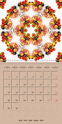 Tomato Kaleidoscope (Wall Calendar 2019 300 × 300 mm Square) - Produktdetailbild 4