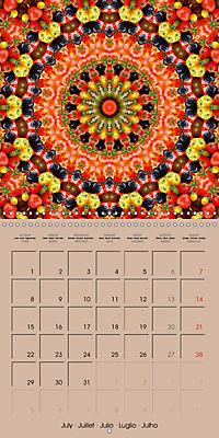 Tomato Kaleidoscope (Wall Calendar 2019 300 × 300 mm Square) - Produktdetailbild 7