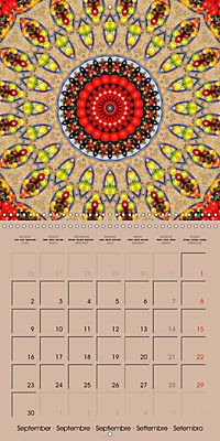 Tomato Kaleidoscope (Wall Calendar 2019 300 × 300 mm Square) - Produktdetailbild 9