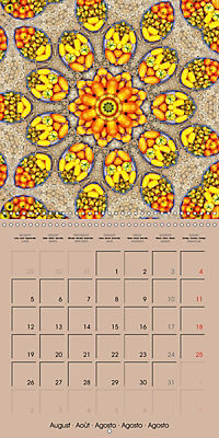 Tomato Kaleidoscope (Wall Calendar 2019 300 × 300 mm Square) - Produktdetailbild 8