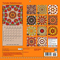 Tomato Kaleidoscope (Wall Calendar 2019 300 × 300 mm Square) - Produktdetailbild 13