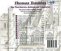 Tomkins:The Third Service,Anthems And Voluntaries - Produktdetailbild 1