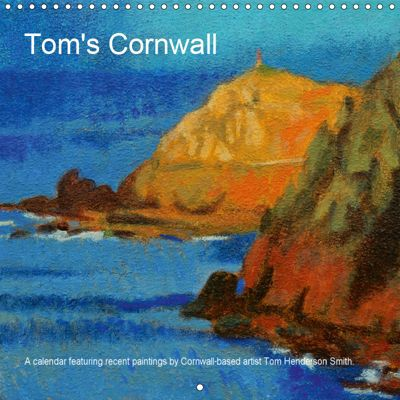 Tom's Cornwall (Wall Calendar 2019 300 × 300 mm Square), Tom Henderson Smith
