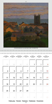 Tom's Cornwall (Wall Calendar 2019 300 × 300 mm Square) - Produktdetailbild 2
