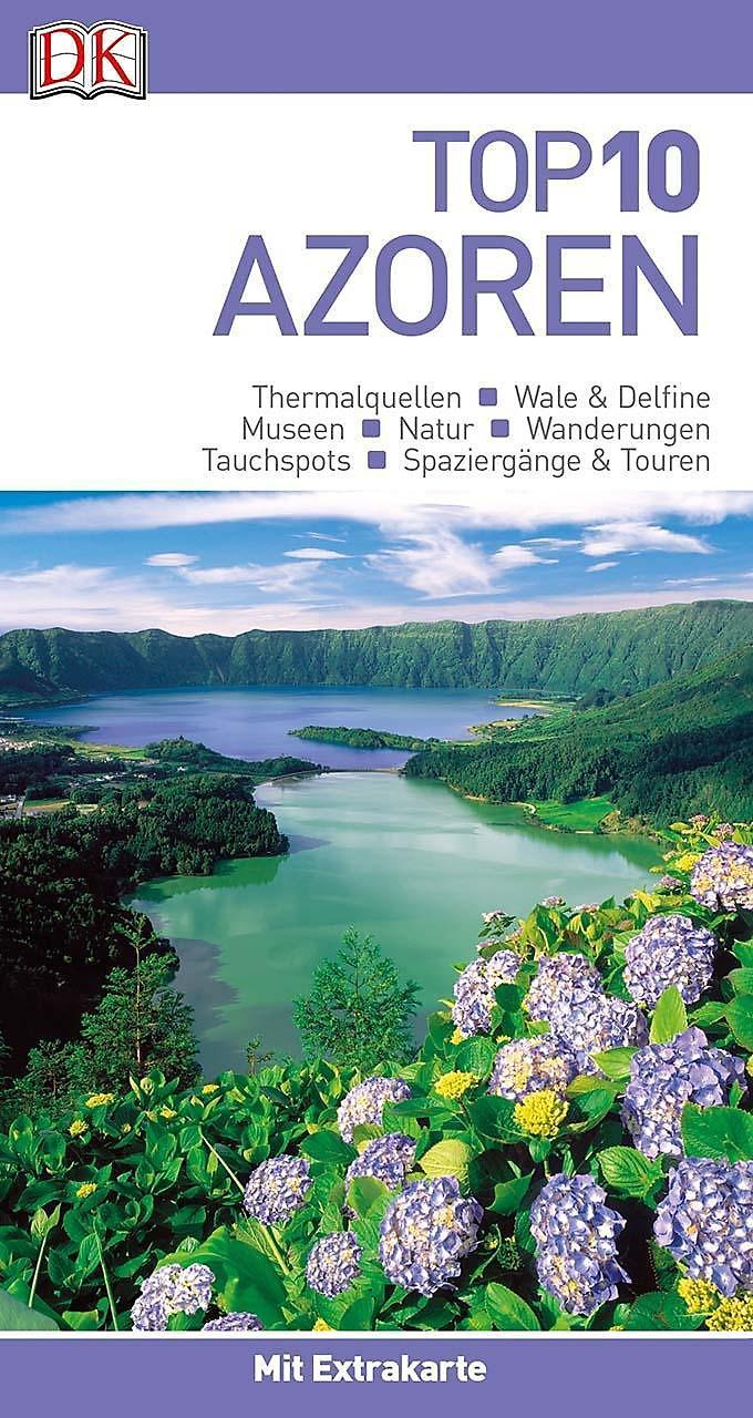 Azoren Karte.Top 10 Reiseführer Azoren M 1 Karte Buch Portofrei Weltbild De