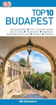 Top 10 Reiseführer Budapest, m. 1 Karte