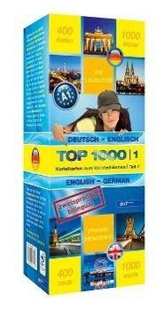 Top 1000 Englisch Niveau A1, Karteikarten m. Lernbox