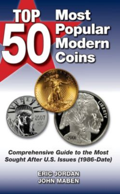 Top 50 Most Popular Modern Coins, Eric Jordan, John Maben