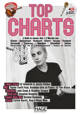 Top Charts, m. Audio-CD - HAGE Musikverlag |
