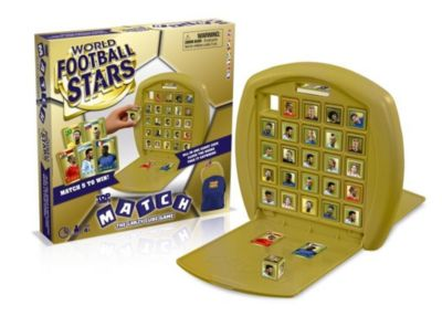 Top Trumps Match World Football Stars, multilingual (Kinderspiel)