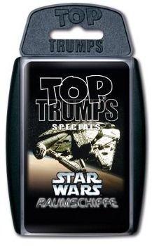 Top Trumps (Quartettspiel), Star Wars Raumschiffe
