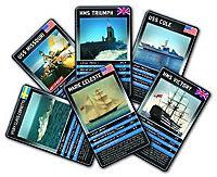 Top Trumps, U-Boote, Flugzeugträger und Zerstörer (Spiel) - Produktdetailbild 1