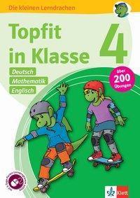 Topfit in Klasse 4 - Deutsch, Mathematik und Englisch -  pdf epub