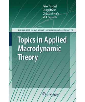 Topics in Applied Macrodynamic Theory, Peter Flaschel, Gangolf Groh, Christian Proaño