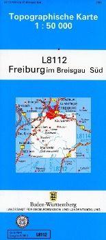 Topographische Karte Baden-Württemberg, Zivilmilitärische Ausgabe - Freiburg im Breisgau Süd