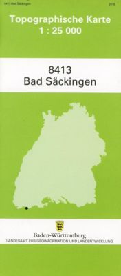 Topographische Karte Baden-Württemberg Bad Säckingen