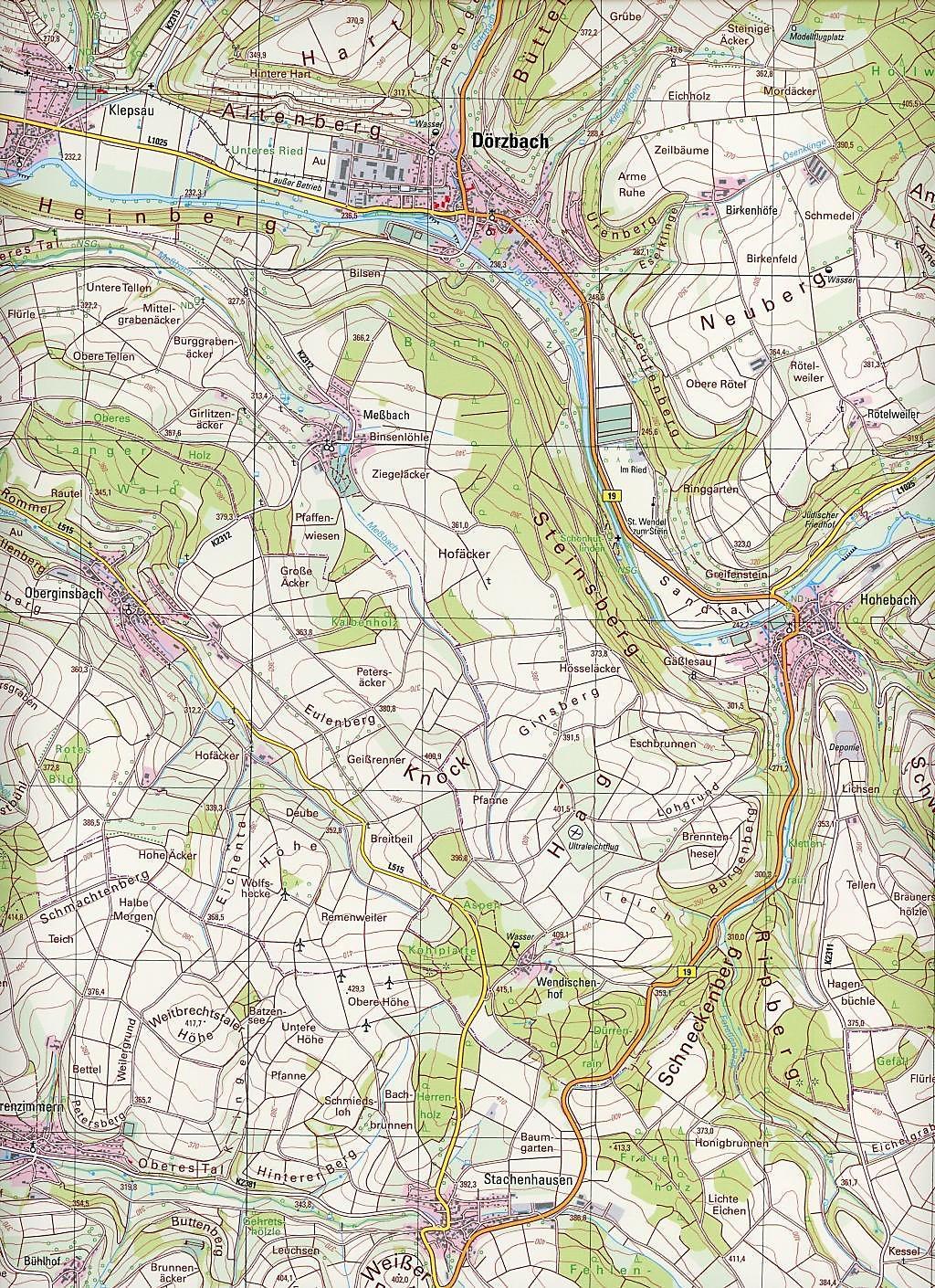 Topographische Karte Nrw.Topographische Karte Baden Württemberg Mulfingen Buch Weltbild De