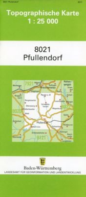 Topographische Karte Baden-Württemberg Pfullendorf