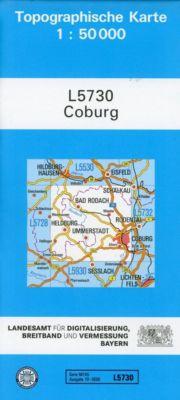 Topographische Karte Bayern Coburg - Breitband und Vermessung, Bayern Landesamt für Digitalisierung pdf epub
