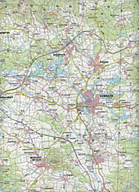 Topographische Karte Bayern Kemnath - Produktdetailbild 2