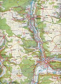 Topographische Karte Bayern Naturpark Altmühltal, mittlerer Teil - Produktdetailbild 2