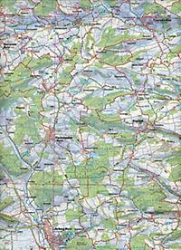 Topographische Karte Bayern Naturpark Frankenhöhe - Produktdetailbild 1