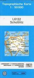 Topographische Karte Bayern Scheßlitz - Breitband und Vermessung, Bayern Landesamt für Digitalisierung |
