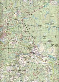 Topographische Karte Bayern Vohenstrauß - Produktdetailbild 2