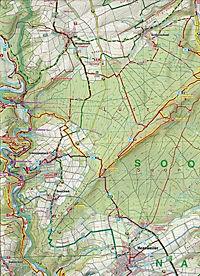 Topographische Karte Rheinland-Pfalz Naturpark Soonwald-Nahe - Produktdetailbild 2