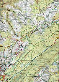 Topographische Karte Rheinland-Pfalz Naturpark Saar-Hunsrück, Blatt Ost - Produktdetailbild 2